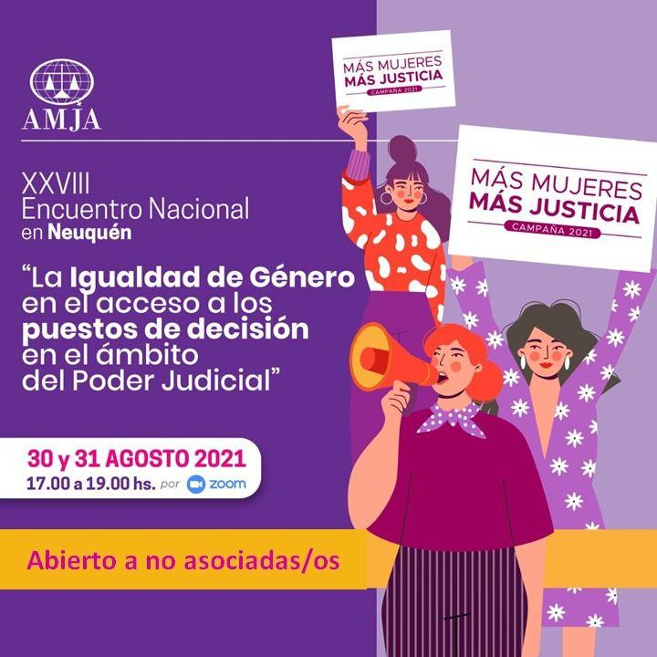 ENCUENTRO NACIONAL DE LA ASOCIACIÓN DE MUJERES JUEZAS